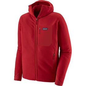 Patagonia R2 TechFace Hættetrøje Herrer, classic red